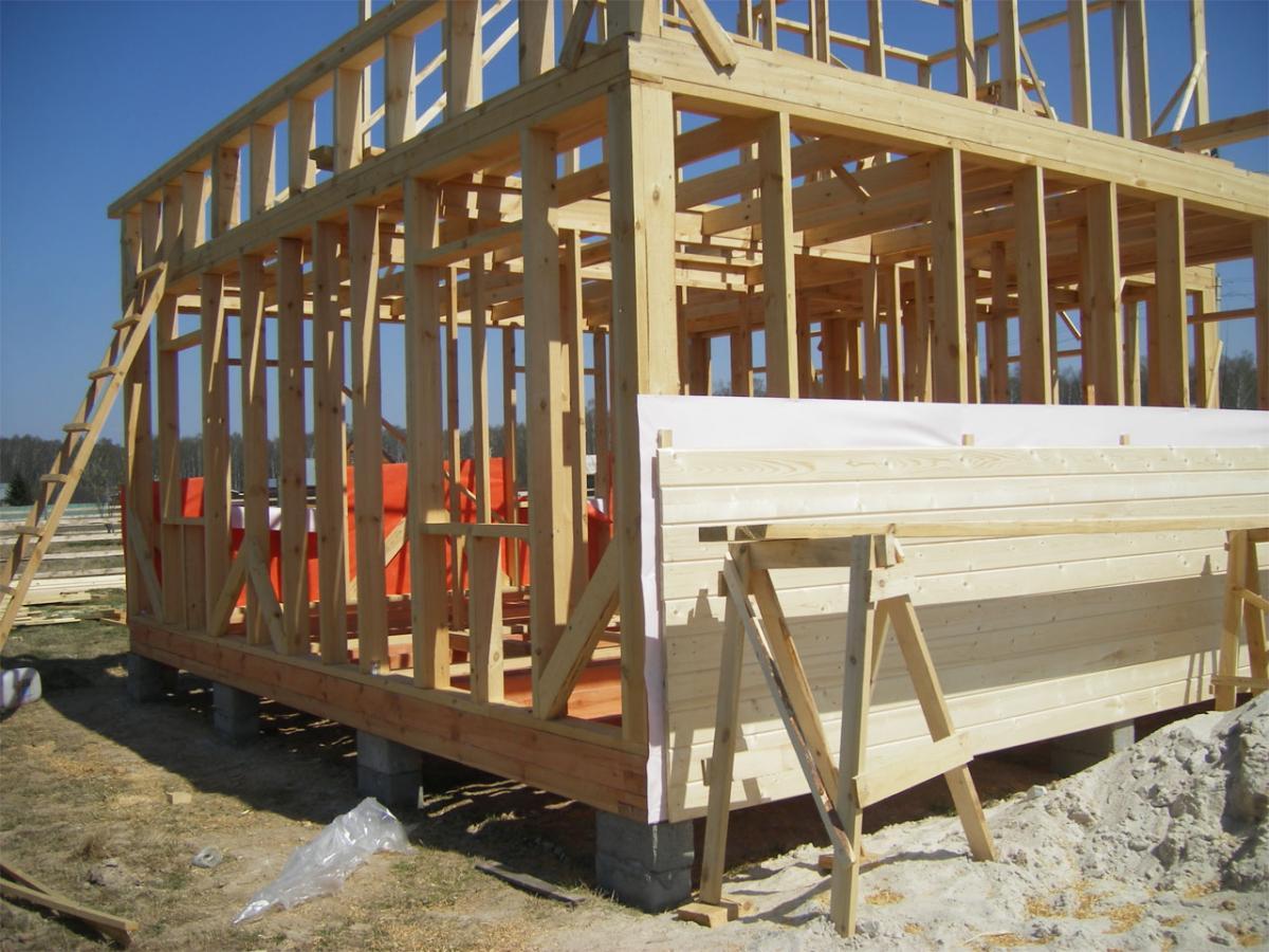 Стройка каркасных домов своими руками 25