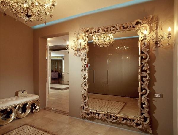 Зеркало для прихожей своими руками фото 147