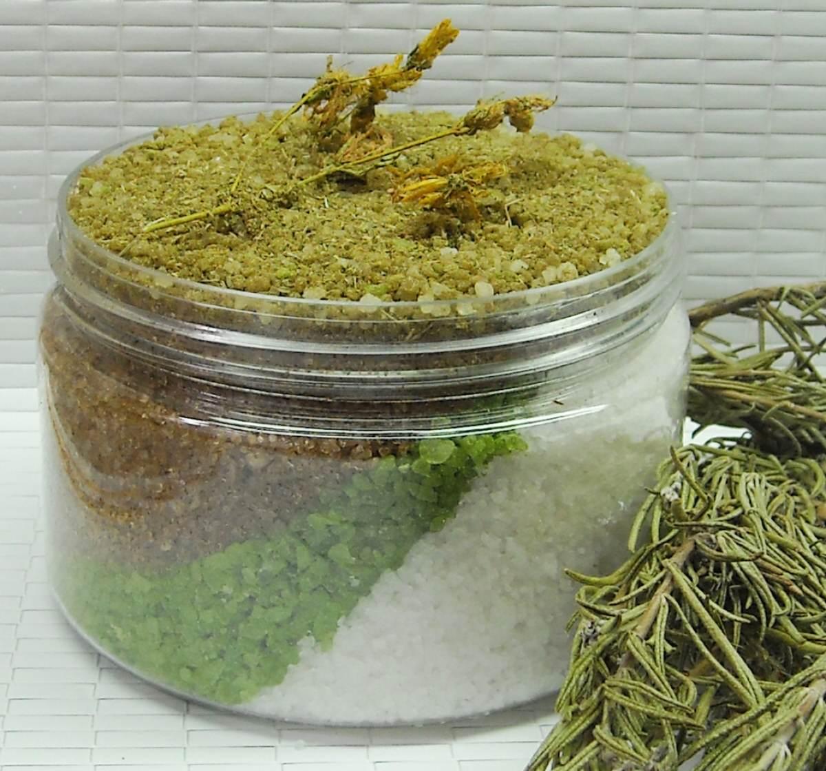 Соль с травами в домашних условиях