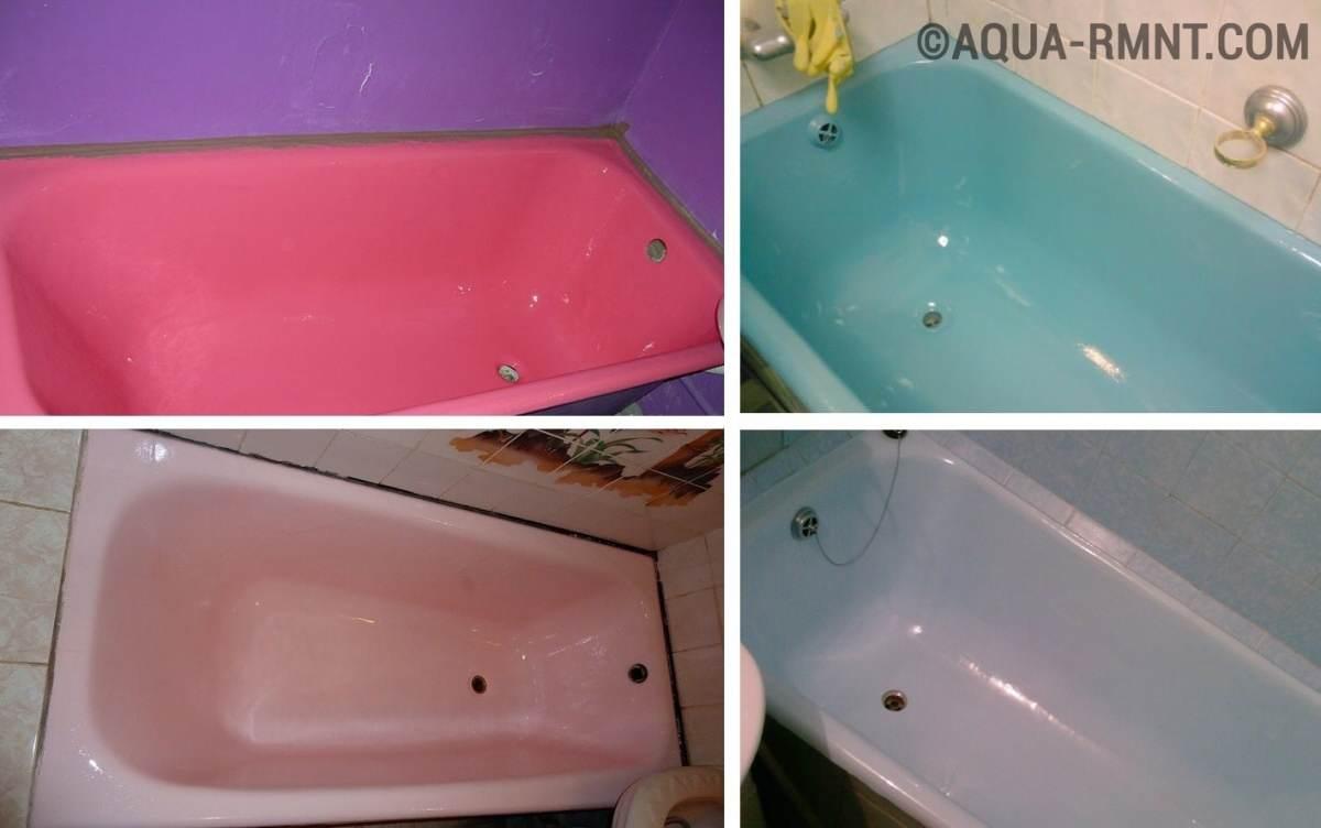 Ремонт эмали ванны своими руками 42