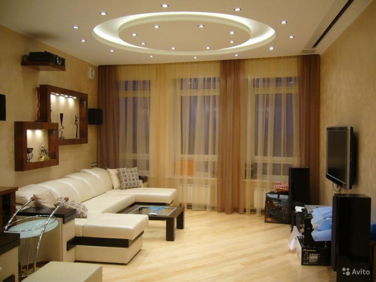 Ремонт в гостиной комнате своими руками